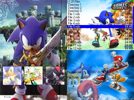 Thumbnail 1 for Sonic Black Knight Skin